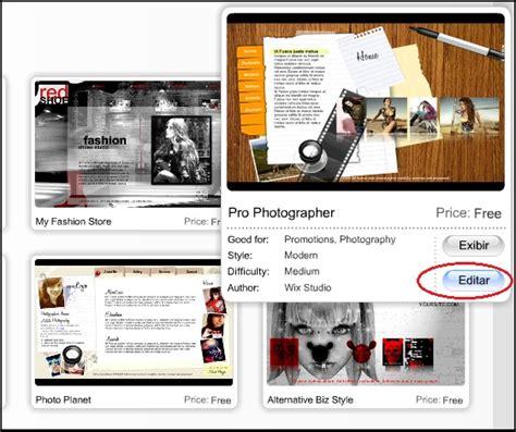 layout blog wix como criar um blog ou site no wix em 5 minutos