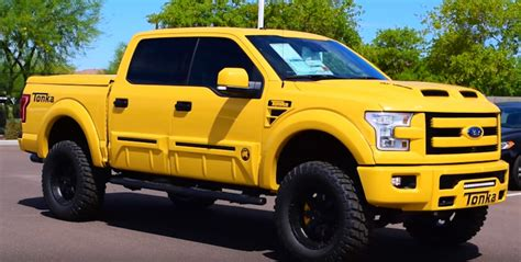 grown ups need toys the 2016 ford f 150 tonka edition