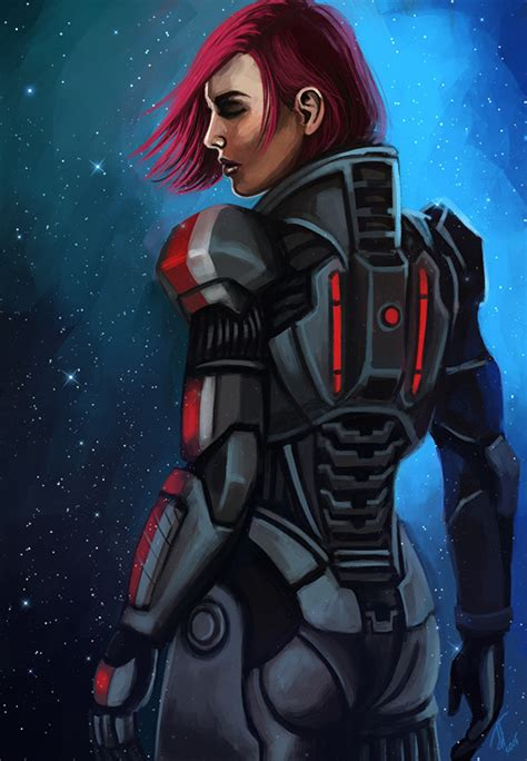 libro art of mass effect artstation this is commander shepard signing off