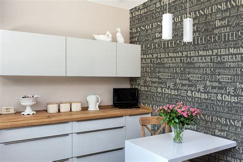 grey wallpaper kitchen english dinner wallpaper in grey graduate collection