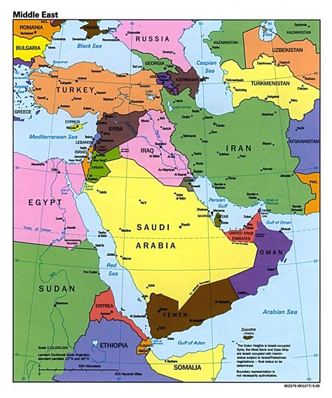 middle east map large large map of middle east images