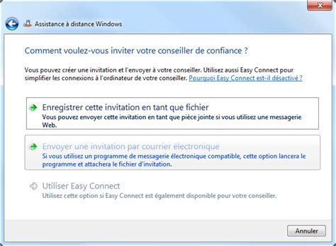 activer bureau à distance windows 7 assistance 224 distance windows aidewindows
