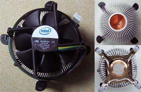 Dijamin Fan Procesor Ori Intel Lga 775 cooler genuine intel heatsink cooling cpu fan 2 q6700 q6600 lga775