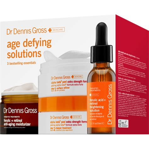 Dr Dennis Gross Detox by Dr Dennis Gross Age Defying Solutions Strength Kit