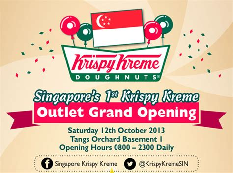 tangs opening hours new year are you going krazy for krispy kreme yet infographic