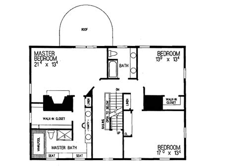 federal style house floor plans simplicity in a federal style home plan 81142w 2nd floor master suite colonial den office