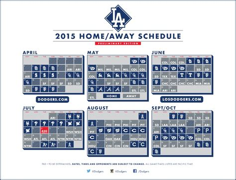 dodgers open 2015 season at home april 6 171 dodger insider