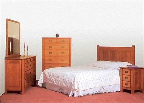 mission bedroom sets mission bedroom set de vries woodcrafters