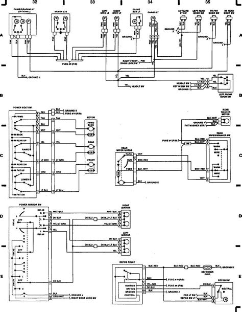 hazard switch wiring diagram 2000 jeep sport