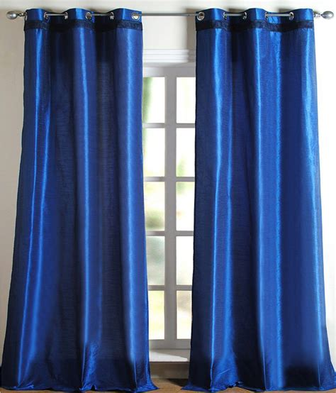 curtains for 9 ft wide window deco window curtain hungama gimp french blue 9 ft door