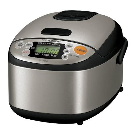 amazon zojirushi zojirushi ns lac05xt micom 3 cup rice cooker and warmer
