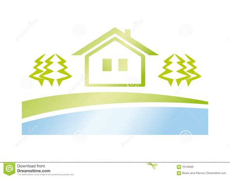 green house agency green house icon stock vector image 70129460