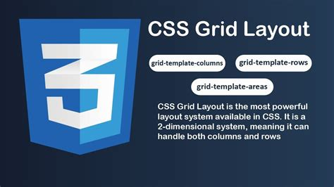 youtube layout grid how to create css3 grid layout grid template columns