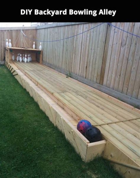 diy backyard bowling alley 78 best images about it s all fun and games on pinterest