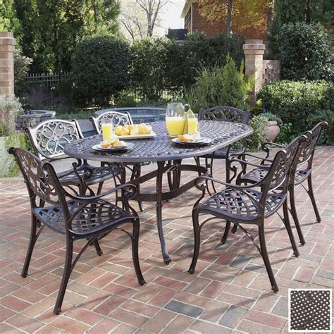 Wrought Iron Table And Chairs Patio Aluminum Versus Wrought Iron Outdoor Patio Furniture