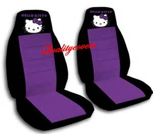 Seat Cover Car Hello Hello Car Seat Covers So In Black With Purple