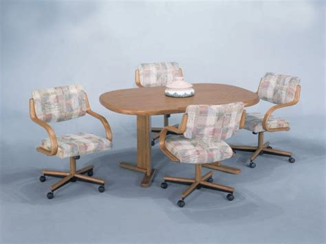 Swivel Kitchen Chairs With Casters Kitchen Ideas Kitchen Chairs On Wheels Swivel