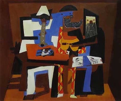picasso paintings three musicians my artful nest picasso s three musicians