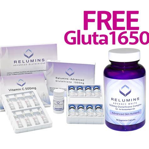 Gluta Lotion Limited authentic relumins advanced glutathione 2000mg glutathione vitamin c with gluata boosters