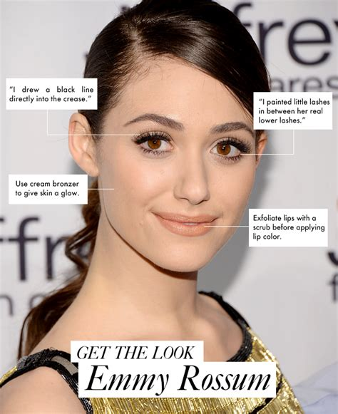 emmy rossum eye makeup emmy rossum s eye makeup is an optical illusion emmy