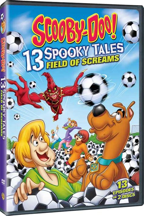 More Scooby Doo Now On Dvd by Scooby Doo 13 Spooky Tales Field Of Screams Dvd Review