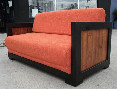 modern pull out couches mid century modern pull out sofa bed at 1stdibs