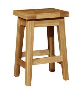 chiltern grand oak kitchen stool