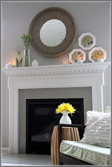 Decorating Ideas Mirror Above Fireplace Mirrors Fireplace Decoration Ideas Homesfeed