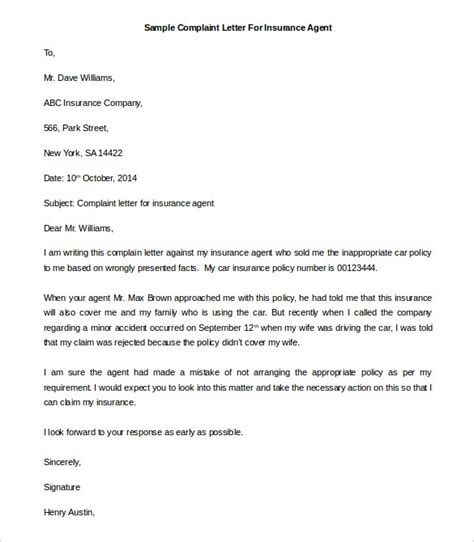 insurance claim letter template letters font