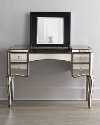 Bathroom Vanity Desk by Mirrored Vanity Desk Traditional Bathroom