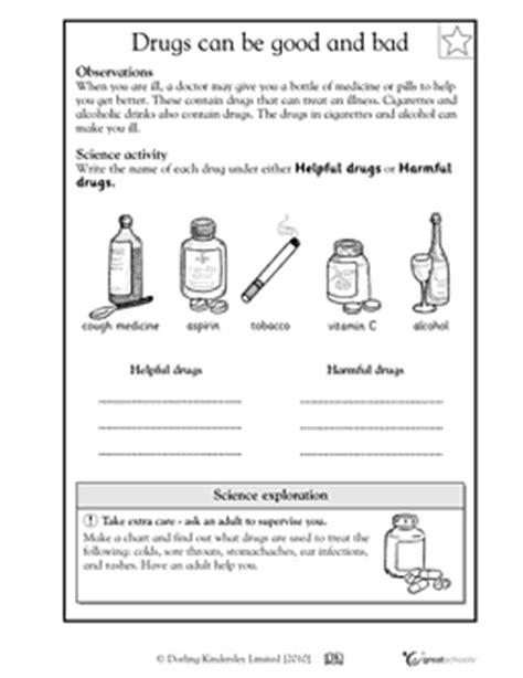 16 best images of free printable drug worksheets drug