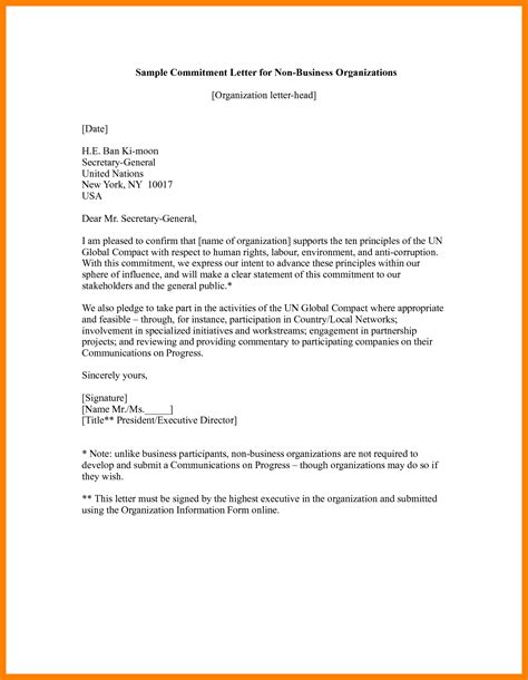 Safety Commitment Letter Exles 9 ban letter sle protect letters