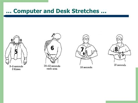 Computer And Desk Stretches Computer And Desk Stretches