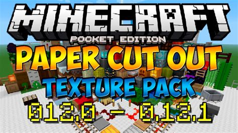 How To Make Paper In Minecraft Pe - texturas para minecraft pe 0 12 0 0 12 1 paper cut out