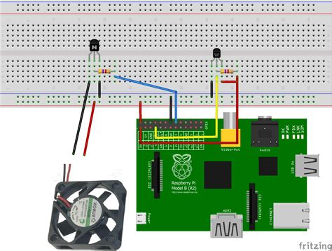 raspberry pi pc fan controller fan for better overclocking of the raspberry pi