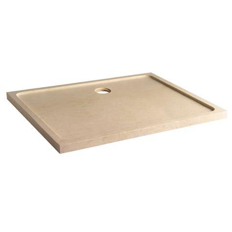 receveur de couleur receveur en marbre beige receveurs 80x120 sur planete bain