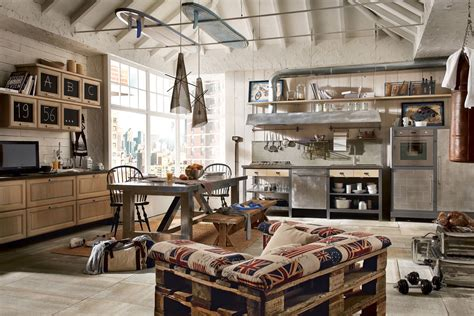 vintage industrial vintage and industrial style kitchens by marchi group