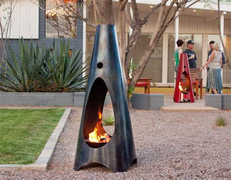 Cool Chiminea by Your Weekend Eye Outdoor Fireplaces And Pits