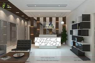 commercial interior designers software house reception area designed by aenzay aenzay