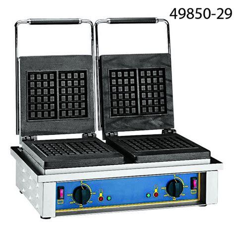 piastra cucina professionale piastra per cialde doppia attrezzature cucina
