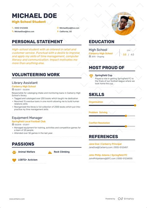 how to write a resume first job how to write your first job resume guide