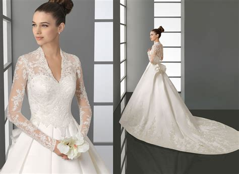 aire barcelona middleton inspired wedding dress