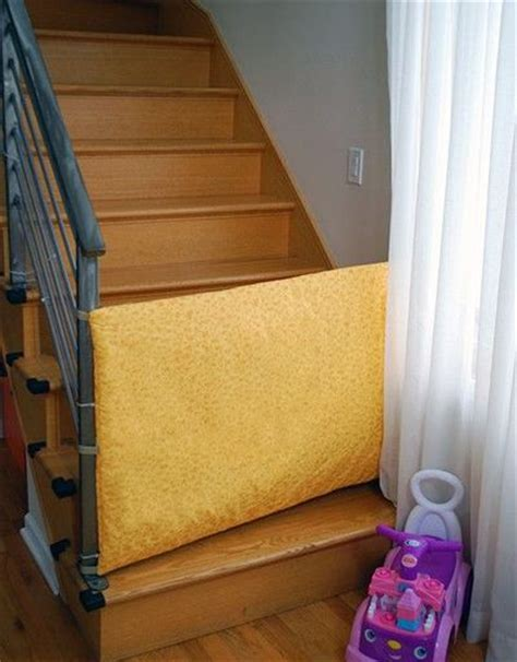 diy safety gate for bottom of stairs for the home