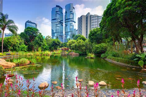 Landscape Architecture Hong Kong Hong Kong House Park Pond Trees Nature Garden Architecture
