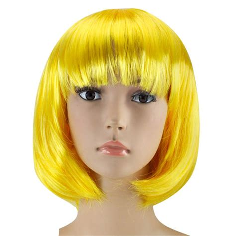 ebay wigs womens ladies short bob wig fancy dress cosplay wigs pop