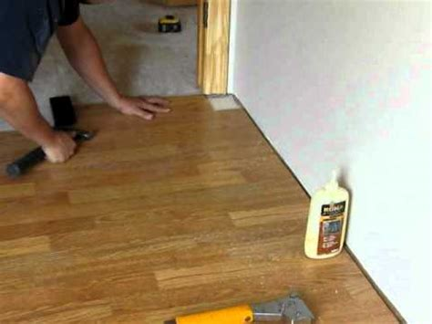 installing laminate flooring troubleshooting youtube
