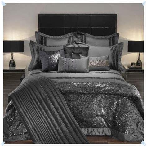 Silver Bed Sets All Silver Shimmer Praphan Bedding Sets Silver
