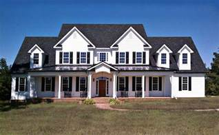 big farmhouse 3 story 5 bedroom home plan with porches southern house plan