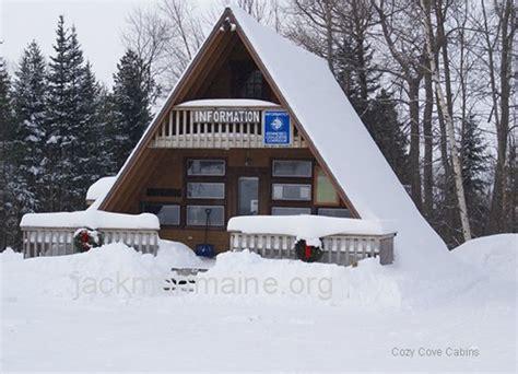 Cozy Cove Cabins Jackman Maine by Jackman Maine Cozy Cove Cabins