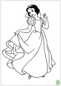 snow white coloring page snow white coloring page dinokids org